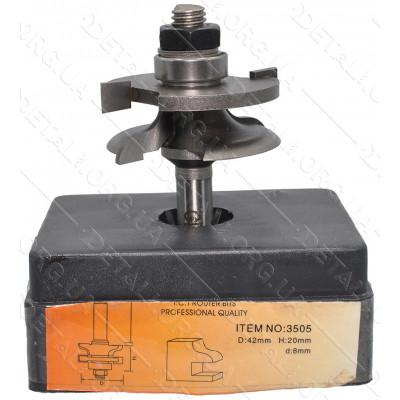 Фреза Globus Item 3505 D42mm L20mm d8mm