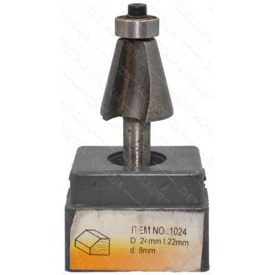 Фреза Globus Item D24mm L22mm d8mm
