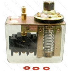 Автоматика компрессора 380В 20A 1 выход оргстекло