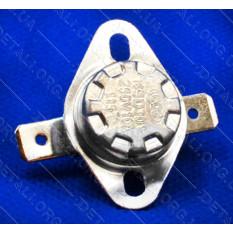 Термореле KSD 301 (115*C 10A, 250V) с кнопкой для утюгов и обогревателей