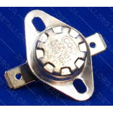 Термореле KSD 301 (145*C 10A, 250V) с кнопкой для утюгов и обогревателей