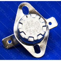 Термореле KSD 301 (175*C 10A, 250V) с кнопкой для утюгов и обогревателей