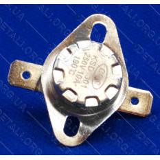 Термореле KSD 301 (190*C 10A, 250V) с кнопкой для утюгов и обогревателей