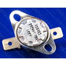 Термореле KSD 301 / KSD 303 (145*C 10A, 250V) для утюгов и обогревателей