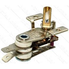 Термореле KST 168 (250V 16A), ножки прямо, ручка 12мм, отв. 3мм для утюгов и обогревателей