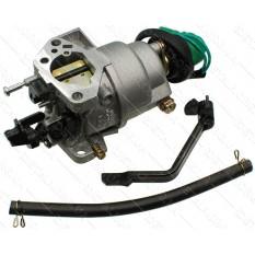 Карбюратор генератора под рычажную заслонку с электроклапаном 188F (Lмц 32mm) тип 2