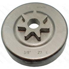 Чашка сцепления бензопилы Stihl MS-290, MS-310 оригинал 11256402004 (d13*79*76 h20/ 7луч 3/8 )