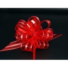Бант для упаковки подарков красный