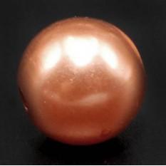 Бусина бронзовый жемчуг d6 мм. Уп.примерно 500гр.