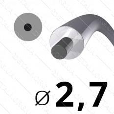 Леска косильная для триммера d 2,7мм круг с сердечником 1 м (на метраж) арт. les481