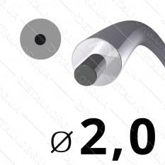 Леска косильная для триммера d 2мм круг с сердечником 1 м (на метраж) арт. les479