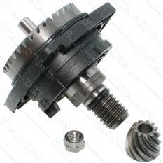 Блок-редуктор болгарки Metabo W 18 LTX оригинал 316047960 (d1 13*47/d2 6,5*16 h13,5)