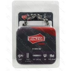 Цепь 50 звеньев (25 зубов) Winzor HARD Picco суперзуб шаг 3/8 паз 1,3 (блистер)