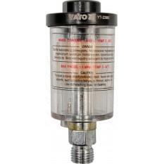 Фильтр-сепаратор воды пневматический YATO P d 1.4 MPa соединение d 1/4 25/50