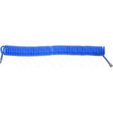 Шланг пневматический спираль полиуретан YATO быстросъем d 8/12 мм d12 Bar L 15 м