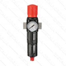 """Фильтр для очистки воздуха в металлическом корпусе 1/2"""" INTERTOOL PT-1418"""