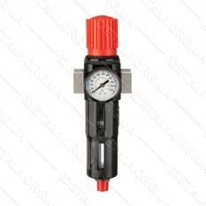Фильтр для очистки воздуха в металлическом корпусе 3/4 INTERTOOL PT-1417