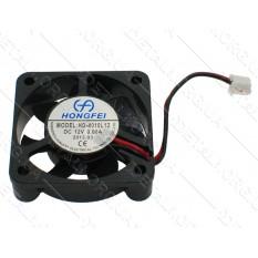 Вентилятор черный (пластик) 12V 40*40мм