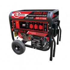Генератор бензиновый макс. мощн. 6 кВт., ном. 5.5 кВт., 13 л.с., 4-х тактный, электрический и ручной
