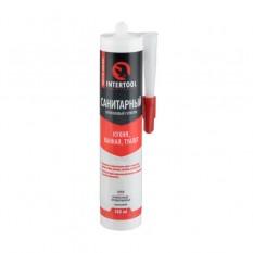 Герметик силиконовый санитарный, белый, 300мл/320г