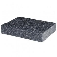 Губка для шлифования 100*70*25 мм, оксид алюминия К80
