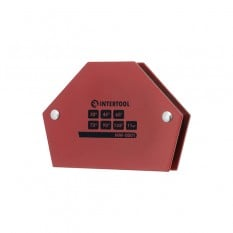 Держатель магнитный для сварки трапеция, 30°, 45°, 60°, 75°, 90°, 135°, 11 кг, 100?68?14 мм