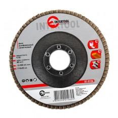 Диск шлифовальный лепестковый 115*22мм, зерно K60