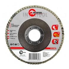 Диск шлифовальный лепестковый 115*22мм, зерно K80
