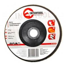 Диск шлифовальный лепестковый 180*22мм, зерно K100