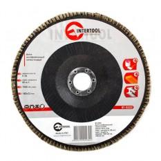 Диск шлифовальный лепестковый 180*22мм, зерно K36