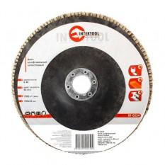 Диск шлифовальный лепестковый 180*22мм, зерно K40