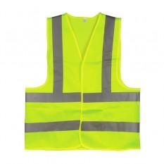 Жилет сигнальный зеленый XL (60*70см), 120 гр/м2