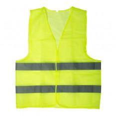Жилет сигнальный зеленый XL (60*70см), 60 гр/м2
