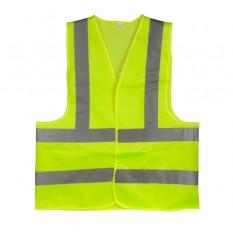 Жилет сигнальный зеленый XXL (62*70см), 120 гр/м2