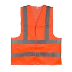 Жилет сигнальный оранжевый XXL (62*70см), 120 гр/м2