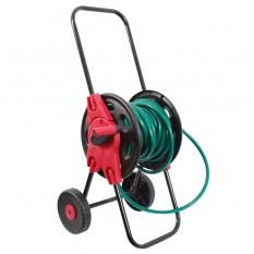 Катушка на колесах для шланга 1/2 45м. PP, steel, ABS
