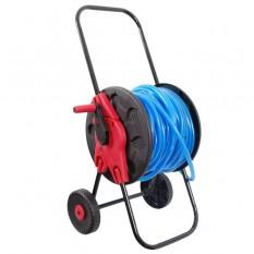 Катушка на колесах для шланга 1/2 60м. PP, steel, ABS