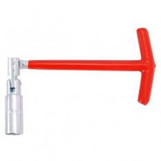 Ключ свечной Т-образный с шарниром 16х250 мм