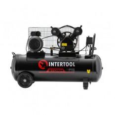 Компрессор 100 л, 3 кВт, 220 В, 8 атм, 500 л/мин, 2 цилиндра