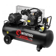 Компрессор 100 л, 3 кВт, 380 В, 8 атм, 500 л/мин, 2 цилиндра