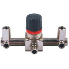 Контрольно-распределительный блок компрессора с регулятором давления