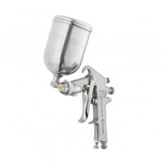 Краскопульт пневматический HP, форсунка 1.5мм, верхний металлический бачок 400мл., 5бар