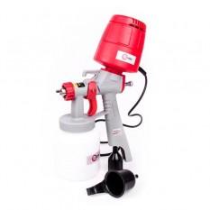 Краскопульт электрический HVLP 450 Вт., форсунка 1.5 мм, бачок 1л., 0.14-0.35 Бар, 100-200 мл/мин