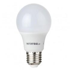 Лампа светодиодная LED A60, E27, 10Вт, 150-300В, 4000K, 30000ч, гарантия 3года