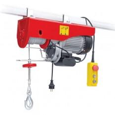 Лебедка электрическая 220/230В, 900Вт, 250/500кг, трос 4.2мм*12м