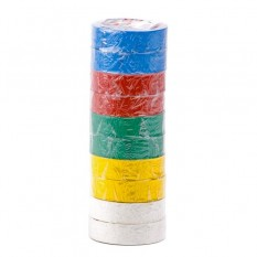 Лента изоляционная 0.15мм*17мм*10м цветная