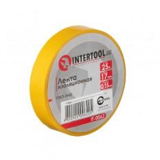 Лента изоляционная 0.15мм*17мм*25м желтая