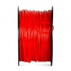 Леска для триммеров и бензокос звезда 2.4 мм, бухта 190м, красная