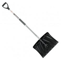 Лопата для уборки снега 460*340мм с Z-образной ручкой 1080 мм