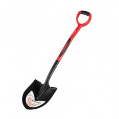 Лопата штыковая, ручка из фибергласса, 217х290х1050 мм